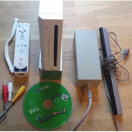 Nintendo Wii: Komplett konsoll med spill
