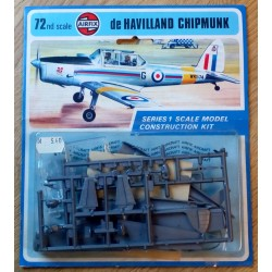 Airfix: de Havilland Chipmunk - Series 1 Scale Model Construction Kit