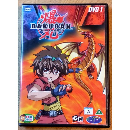 Bakugan Battle Brawlers: DVD 1 (DVD)