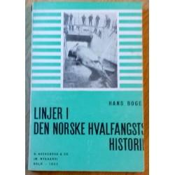 Linjer i Den norske hvalfangsts historie