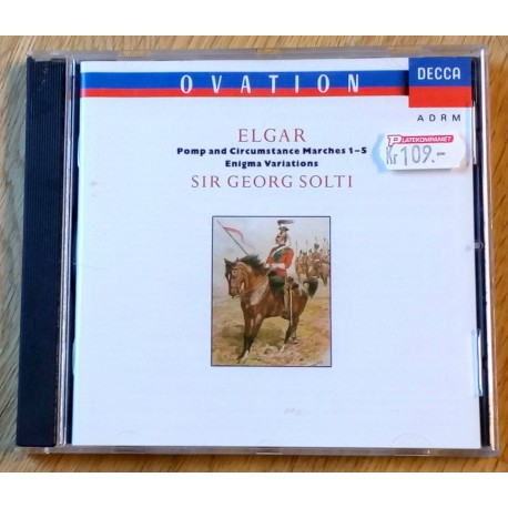 Elgar: Pomp and circumstances Marches 1-5 - Sir Georg Solti (CD)
