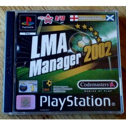 LMA Manager 2002 (Codemasters)