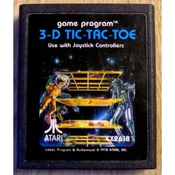 Atari 2600: 3-D Tic-Tac-Toe (cartridge)