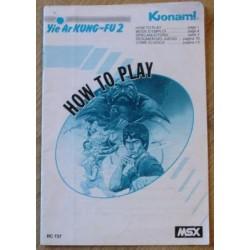Yie Ar Kung-Fu 2 (Konami)