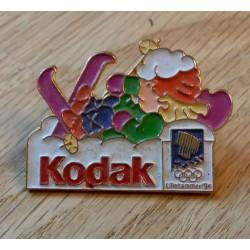 Pin: Lillehammer 1994 - Kodak med Håkon