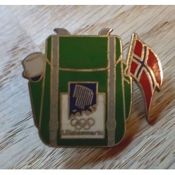 Pin: Lillehammer 1994 - Ryggsekk