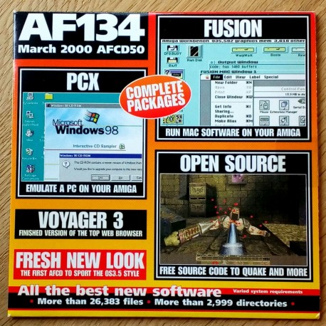 Amiga Format: AFCD 50 - March 2000