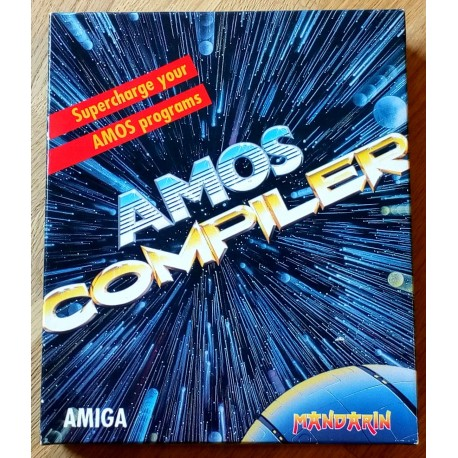 AMOS Compiler - Supercharge your AMOS programs (Mandarin)