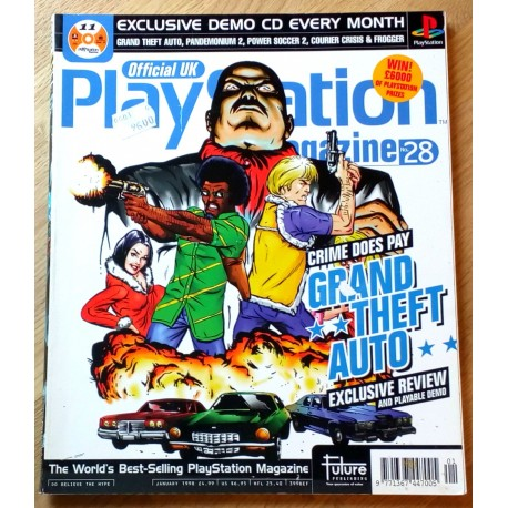 Official UK PlayStation Magazine: Nr. 28 - January 1998