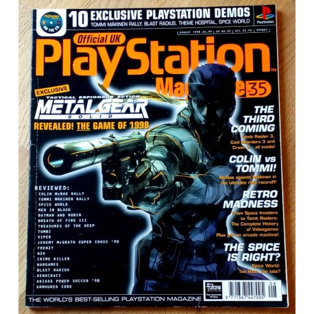 Official UK PlayStation Magazine: Nr. 35 - August 1998