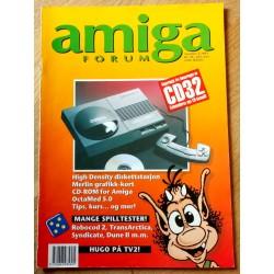 Amiga Forum: 1993 - Nr. 5 - Reportasje fra lanseringen av CD32