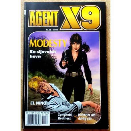 Agent X9: 2005 - Nr. 12 - En djevelsk plan