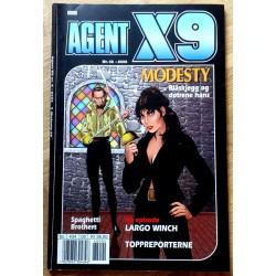 Agent X9: 2006 - Nr. 2 - Blåskjegg og døtrene hans
