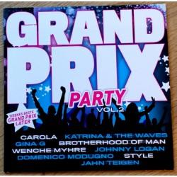 Grand Prix Party: Vol. 2 - Tidenes beste Grand Prix låter (CD)