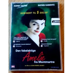 Den fabelaktige Amelie fra Montmartre (DVD)