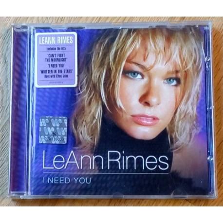 LeAnn Rimes: I Need You (CD)