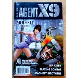 Agent X9: 2010 - Nr. 12 - Frasers historie