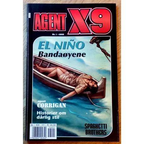 Agent X9: 2005 - Nr. 1 - El Nino