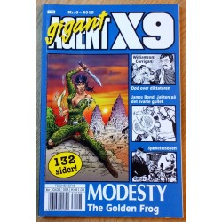 Agent X9 Gigant: 2013 - Nr. 8 - The Golden Frog