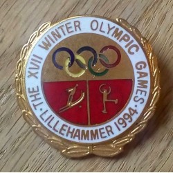 Pin: Lillehammer 1994 - The XVII Winter Olympic Games