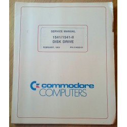 Commodore Computers: Service Manual 1541/1541-II Disk Drive
