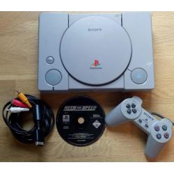 Playstation 1: Komplett konsoll med spill