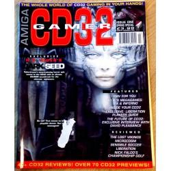Amiga CD32 Gamer: 1994 - Nr. 1 - First issue