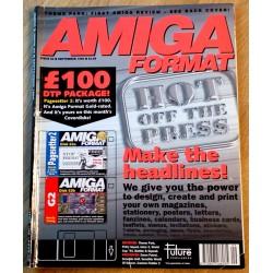 Amiga Format: 1994 - September - Make the headlines!