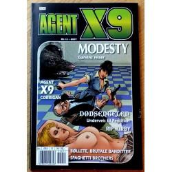 Agent X9: 2007 - Nr. 11 - Garvins reiser