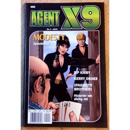 Agent X9: 2006 - Nr. 4 - Spionfellen