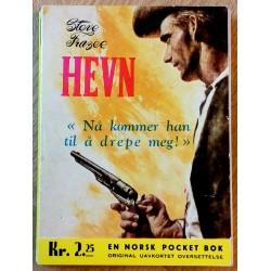 Fredhøis Pocket: Nr. 137 - Steve Frazee: Hevn