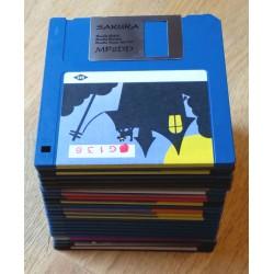 25 x disketter - Tilfeldig utvalg - Pakke 1 (Amiga)