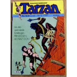 Tarzan: 1987 - Nr. 12 - Prinsessen av Waz-Don