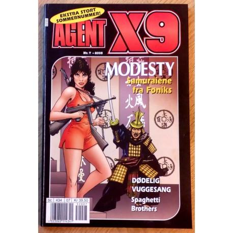 Agent X9: 2005 - Nr. 7 - Samuraiene fra Føniks