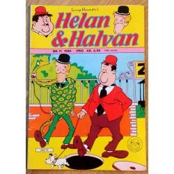 Helan og Halvan: 1980 - Nr. 11 - Opp og ned