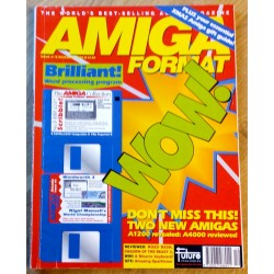 Amiga Format: 1992 - December - Don't miss this! Two new Amigas!