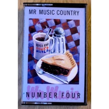 Mr. Music Country: Number 4 (kassett)