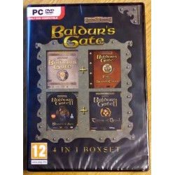 Baldur's Gate 4 in 1 Box-set (Forgotten Realms)