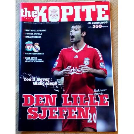 The Kopite: 2008/2009 - Nr. 5 - Den lille sjefen