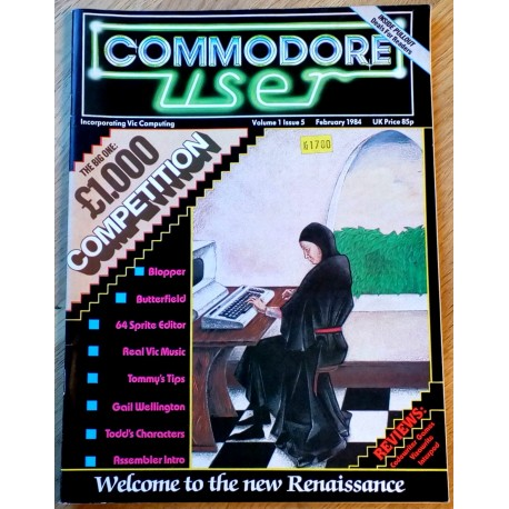 Commodore User: 1984 - February