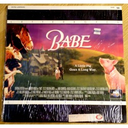 Babe: A Little Pig Goes A Long Way (LaserDisc)