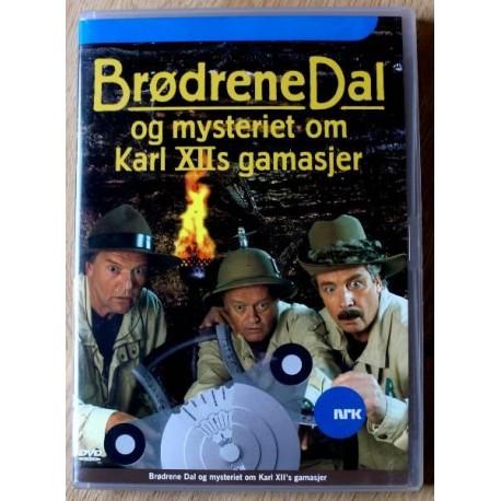 Brødrene Dal og Mysteriet om Karl XIIs gamasjer (DVD)