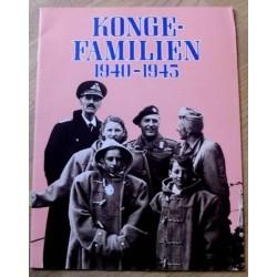 Kongefamilien 1940 - 1945
