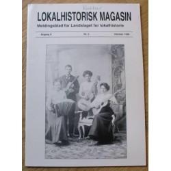 Lokalhistorisk Magasin: 1998 - Nr. 3 - Årgang 9