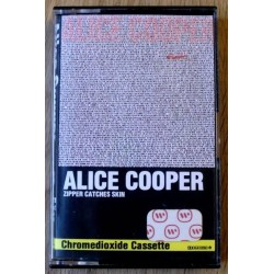 Alice Cooper: Zipper Catches Skin (kassett)