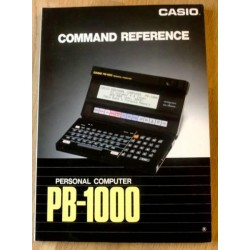 Casio Personal Computer PB-1000: Command Reference