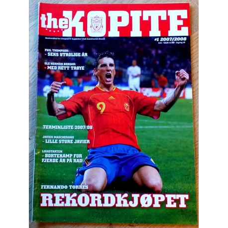 The Kopite: 2007/2008 - Nr. 1 - Rekordkjøpet