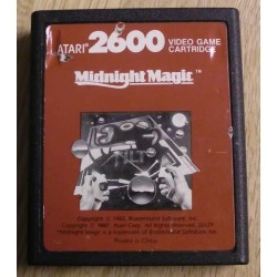 Atari 2600: Midnight Magic (cartridge)