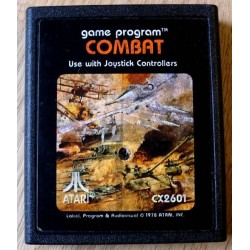 Atari 2600: Combat (cartridge)