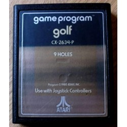 Atari 2600: Golf - 9 Holes (cartridge)